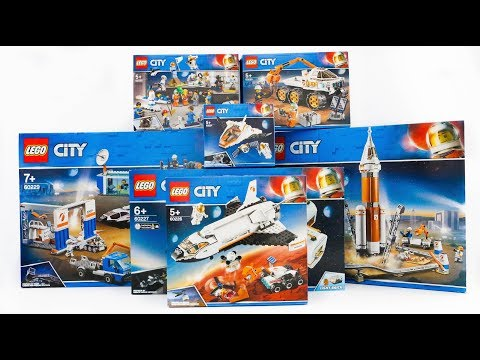 ALL LEGO City Space Compilation 2019 Speed Build