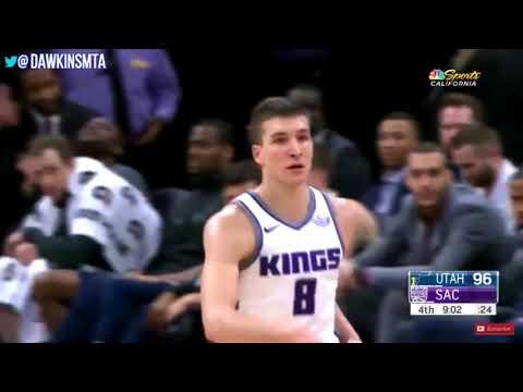Bogdan Bogdanovic Highlights 25 points vs Jazz 1/17/18