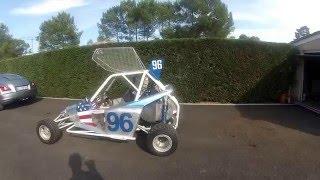 kart cross MMS moteur 500 2 temps Polaris motoneige saison 2015