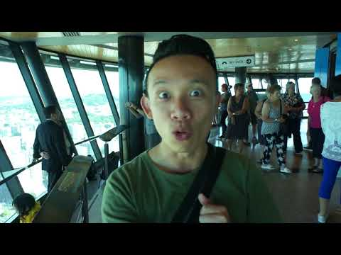 Auckland Sky Tower Day 9 New Zealand North Island Travel Mar 2018