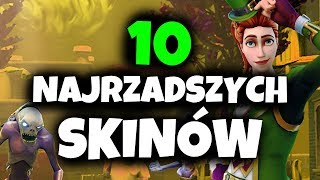 TOP 10 RAREST SKINS IN FORTNITE BATTLE ROYALE
