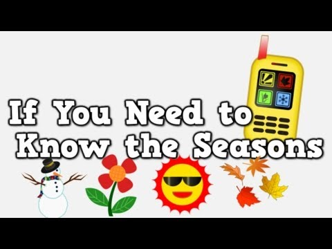 If You Need to Know the Seasons version with all 4 seasons included