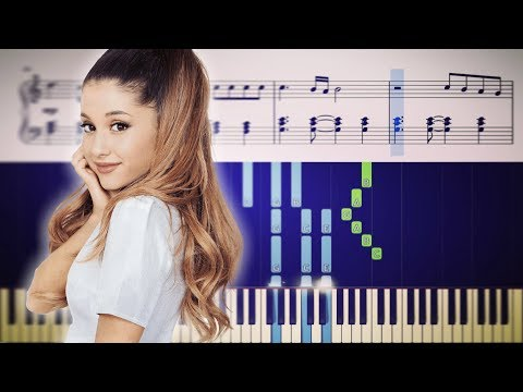 BREATHIN (Ariana Grande) - Piano Tutorial + SHEETS