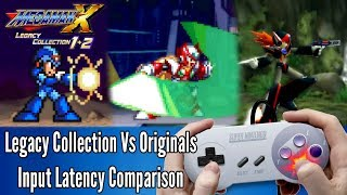 X Legacy Collection Input Lag Tests: PS4 vs Originals vs PS2 collection (Button2pixel)