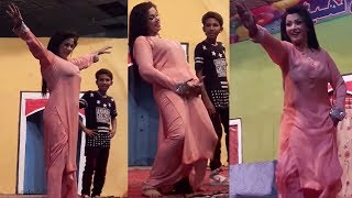 Zara Akbar Mujra in Theate Dance Akh Surmai Way | Stage Dance - SMB