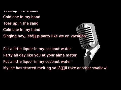 Thomas Rhett - Vacation (lyrics)