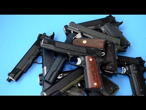 Обзор-сравнение систем страйкбольных пистолетов 1911 (TM, WA, KJW, WE, KWC)