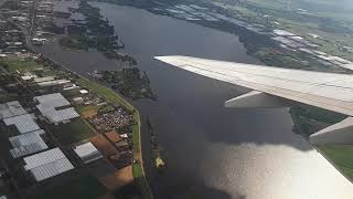 SAS Boeing 737-600 Takeoff from Amsterdam Airport