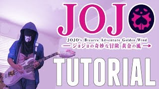 [TUTORIAL] JoJo's Bizarre Adventure: Golden Wind OP2 - 裏切り者のレクイエム | 黄金の風