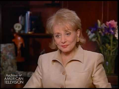 Barbara Walters on her first overseas reporting assignment, covering then-First Lady Jacqueline...