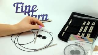 Видеоурок вязания от Fineyarn #4 Как пользоваться съемными спицами KnitPro