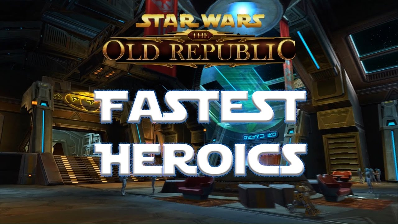 SWTOR: Best CXP Farm For Me by The AoG