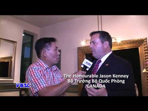 Interview Jason Kenney Minister of National Defence Canada