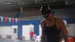 Inès Remersaro - la nadadora que busca llegar a Tokio