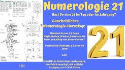 Ganzheitliche Numerologie - die Zahl 21