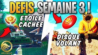 FORTNITE - LANCER THE VOLANT DISQUE - FREE PALIER! Week 3 Season 9 Challenge Guide
