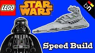 Lego Star Wars Imperial Star Destroyer (75055) Speed Build