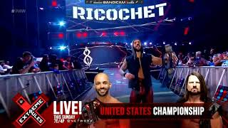 Ricochet entrance RAW: july 8, 2019