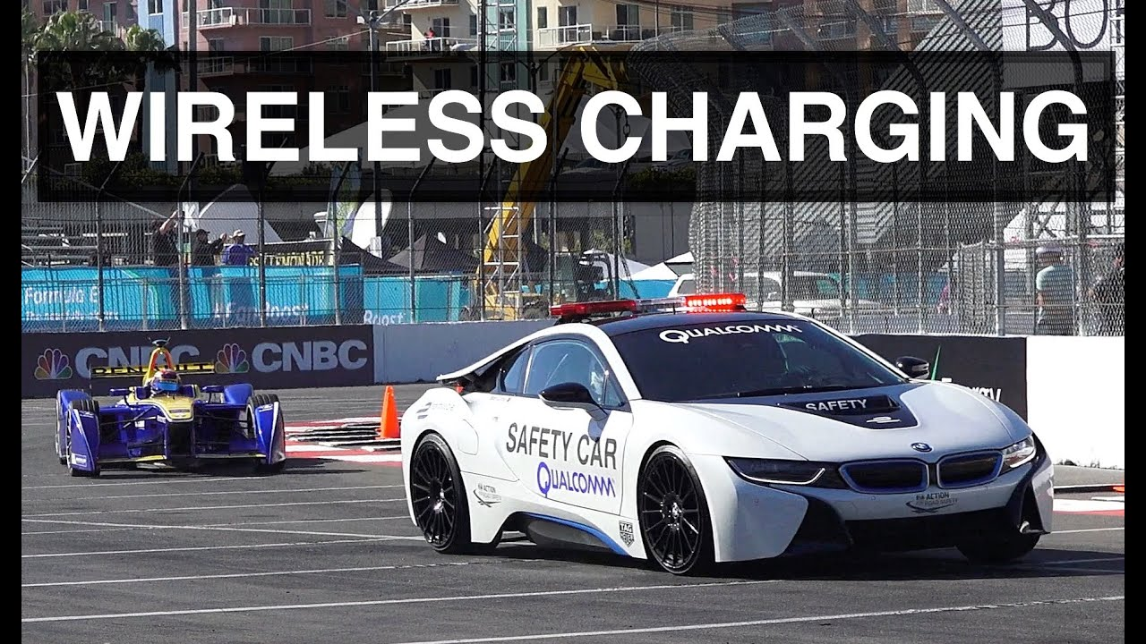 How Wireless Charging Works On The Bmw I8 Youtube