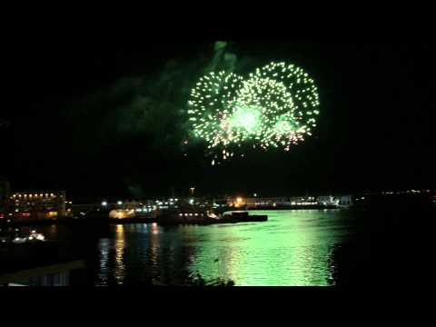 NYE 2015 fireworks. V & A Waterfront, Cape Town