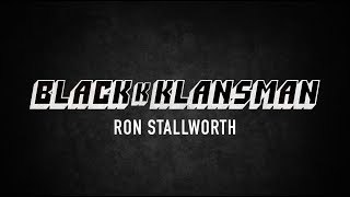 Black Klansman: Ron Stallworth Website Design & Development