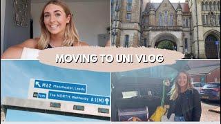 MOVING TO UNI // University of Manchester