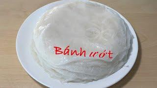 Bánh Ướt Phương Pháp Làm Bánh Ướt Bằng chảo Chống Dính Bánh Ướt Làm Bằng Bột Gạo Tươi