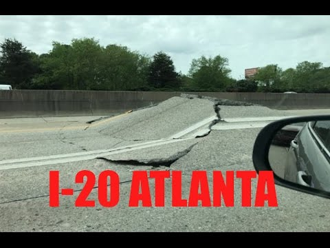 Breaking: Another BIZARRE Interstate incident near Atlanta | Large 'Bulge in I-20!