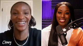 Crystal Dunn and Chiney Ogwumike discuss preparing for the Olympics and unique pet choices   #Chiney