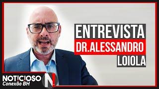 """Dr. Alessandro Loiola Médico e Escritor - """"Conversando sobre a Pandemia e o Covid-19"""""""