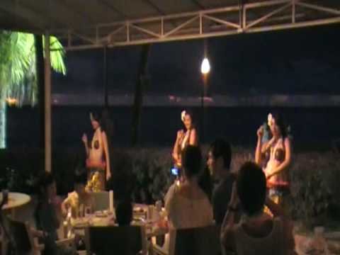 South Sea island Sunset Show Guam