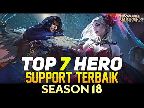 7 HERO SUPPORT TERBAIK SEASON 18 | Mobile Legends Indonesia