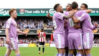 Highlights: Brentford 1-3 Reading (Sky Bet Championship) 29th August 2015