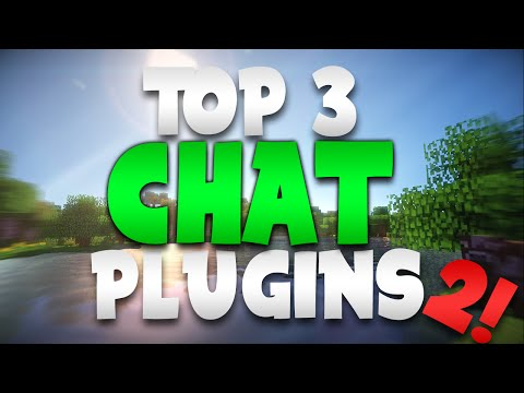 "Minecraft Saturday | Top 3 ""CHAT"" Plugins 2!"
