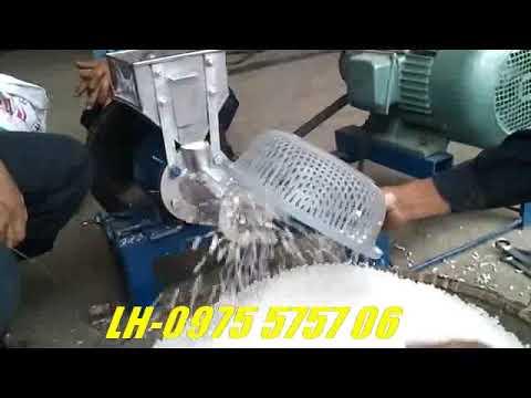 Máy bỏng hạt đu dủ - YouTube