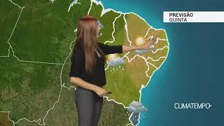 Previsão Nordeste - Alerta para a BA, MA e PI