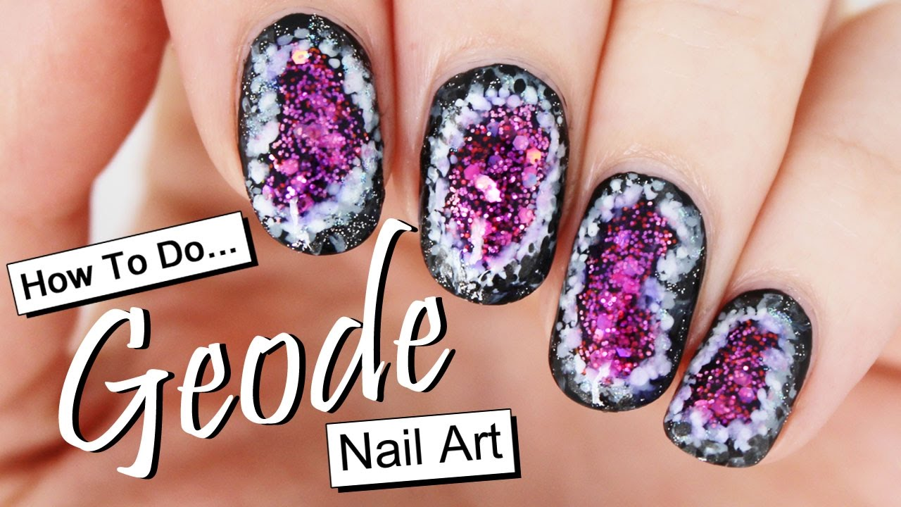 How to Do Geode Nail Art