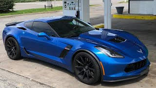 Driving My Corvette Z06 1,000 Miles Back to Texas