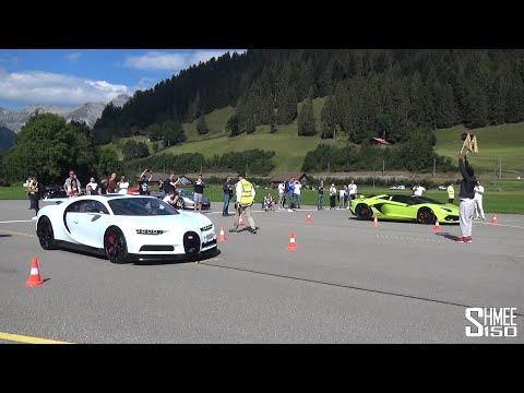 Drag Racing the WORLD'S MOST EXPENSIVE CARS! Bugatti vs Koenigsegg vs Pagani