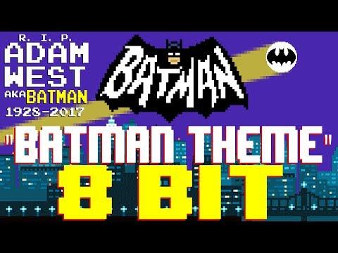 Batman Theme RIP Adam West 8 Bit Tribute to Batman 1966  8 Bit Universe