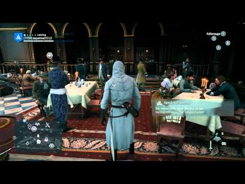 Assassin's Creed Unity - Gesellschaftsclub und das Cafe Thea