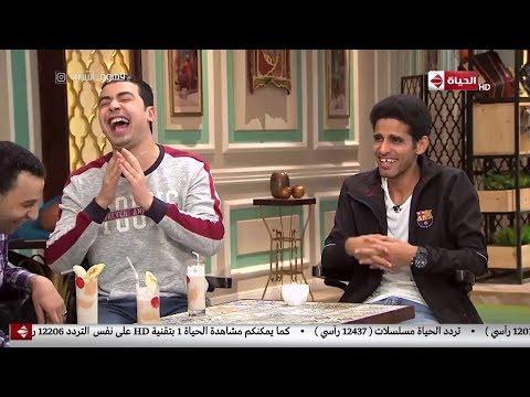 كوميديا نجوم مسرح مصر في قهوة اشرف .. حمدي الميرغني و محمد انور