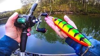 Catching GIANT Fish With BIG WEIRD baits (Ft.SBFISHINGTV)