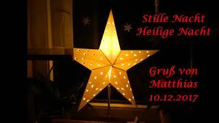 Stille Nacht, heilige Nacht - Wilhelmsburger Kinderchor - Gruß von Matthias