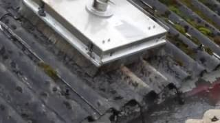 Asbestos Roof Cleaning - how to clean a commercial property asbestos roof