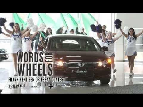 Frank Kent Honda >> Fwisd Frank Kent Honda Words For Wheels Winner Reveal