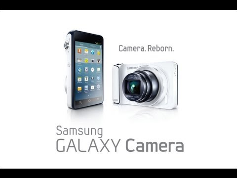 Samsung Galaxy Camera Review w/ 4.1 Jelly Bean - 2013