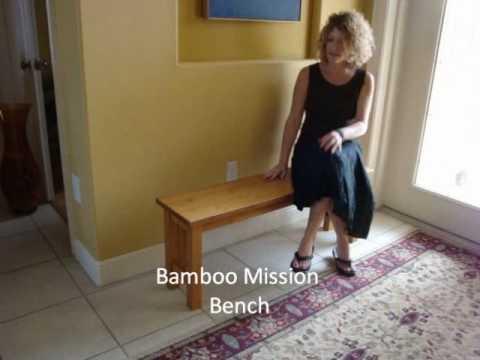 Linse Showcasing Bamboo Furniture