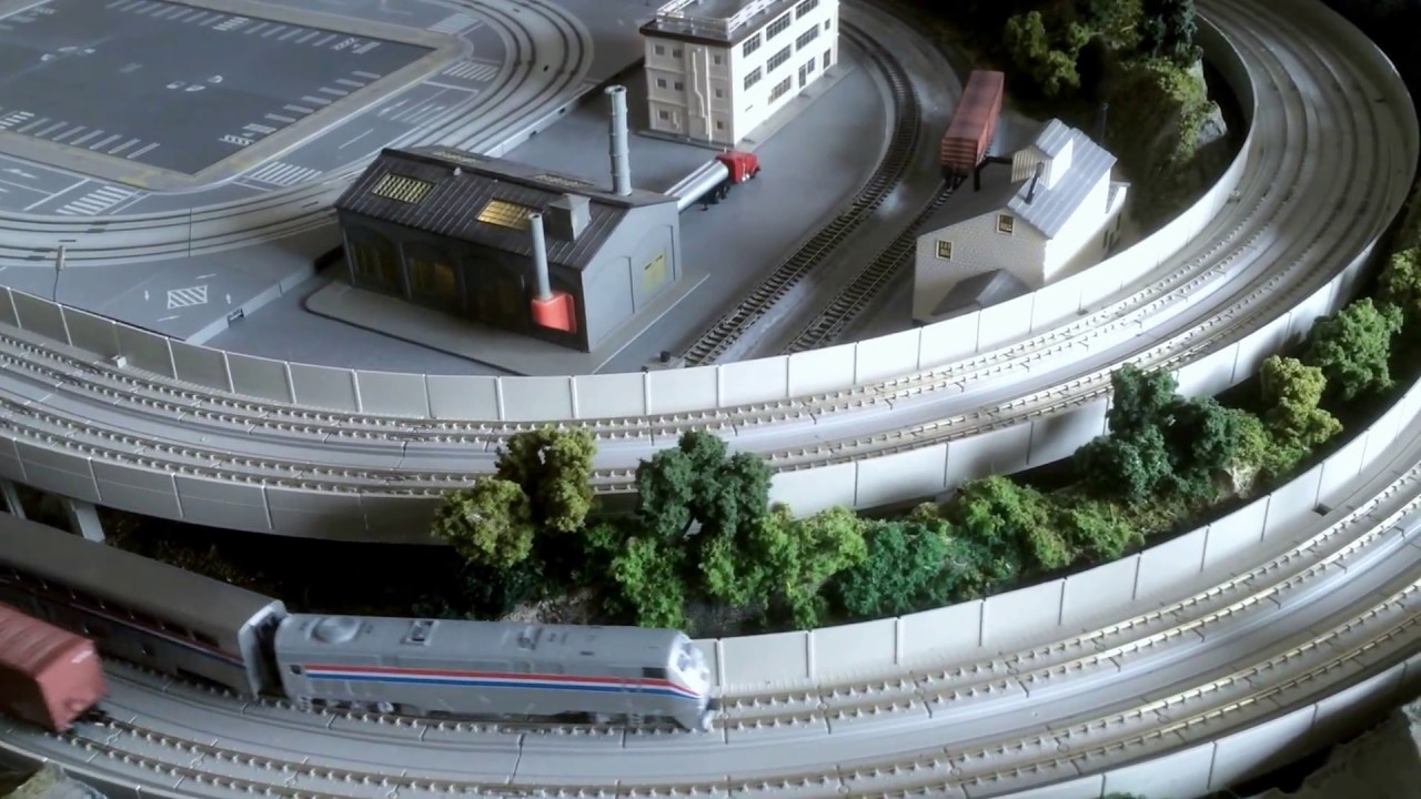 Kato Model Train Layout Built By Rg Train Layouts