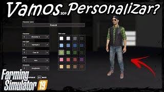 Farming Simulator 19 Personalização de Personagem